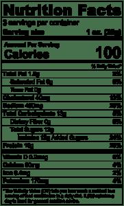 Original Jerky Nutrition Facts