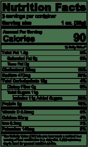 Sweet & Hot Jerky Nutrition Facts