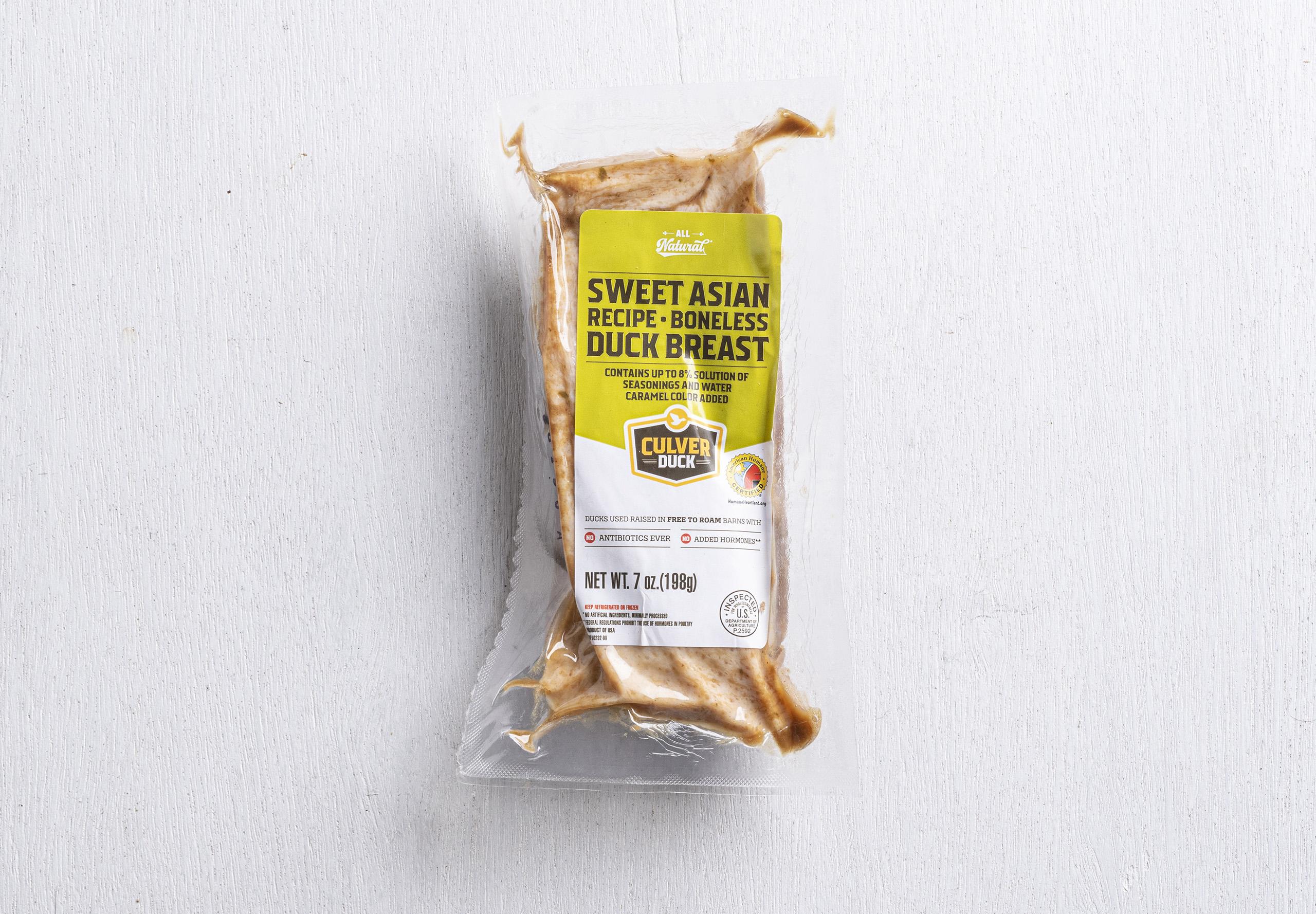 Sweet Asian Recipe - Boneless Duck Breast