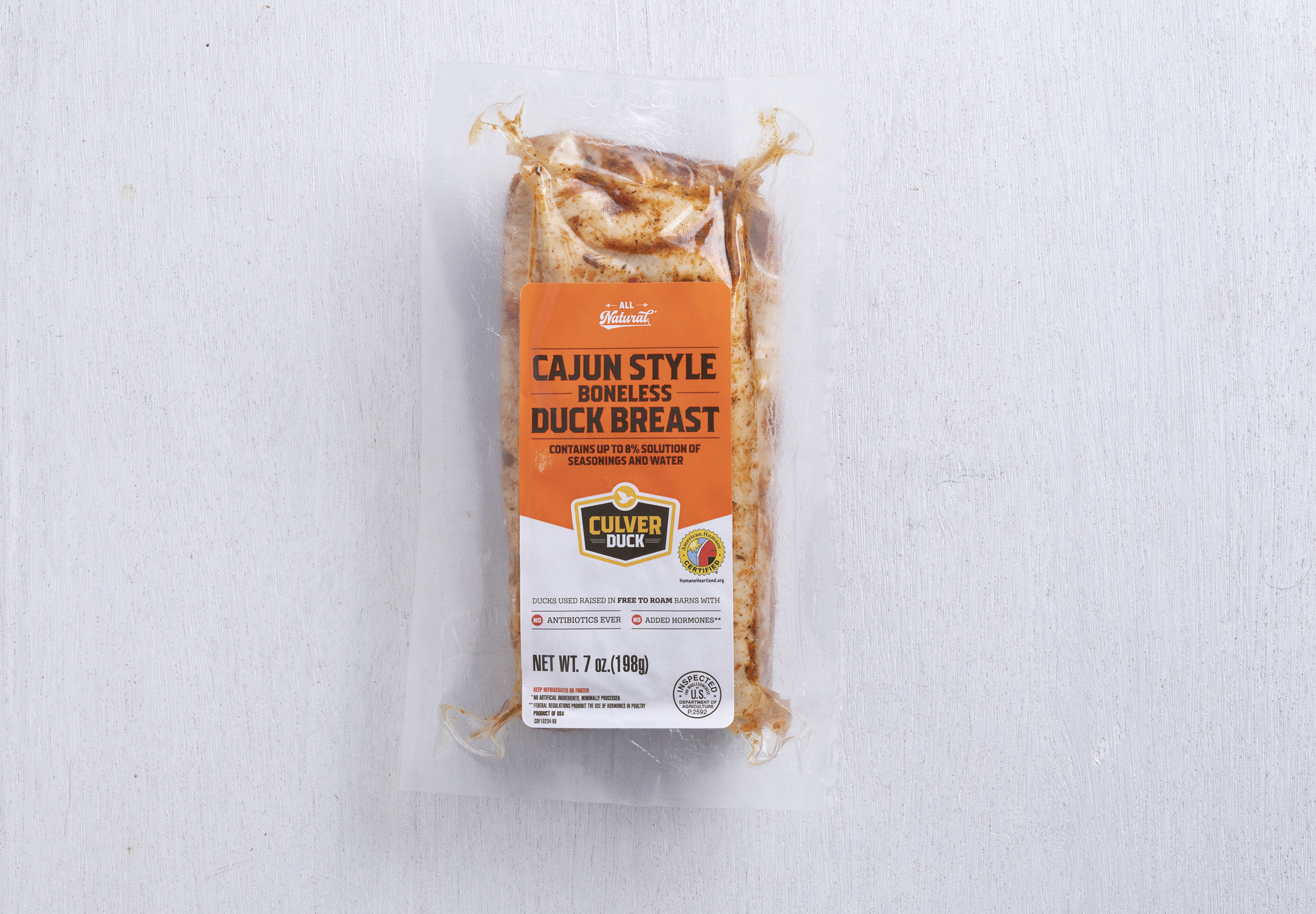 Cajun Style Boneless Duck Breast