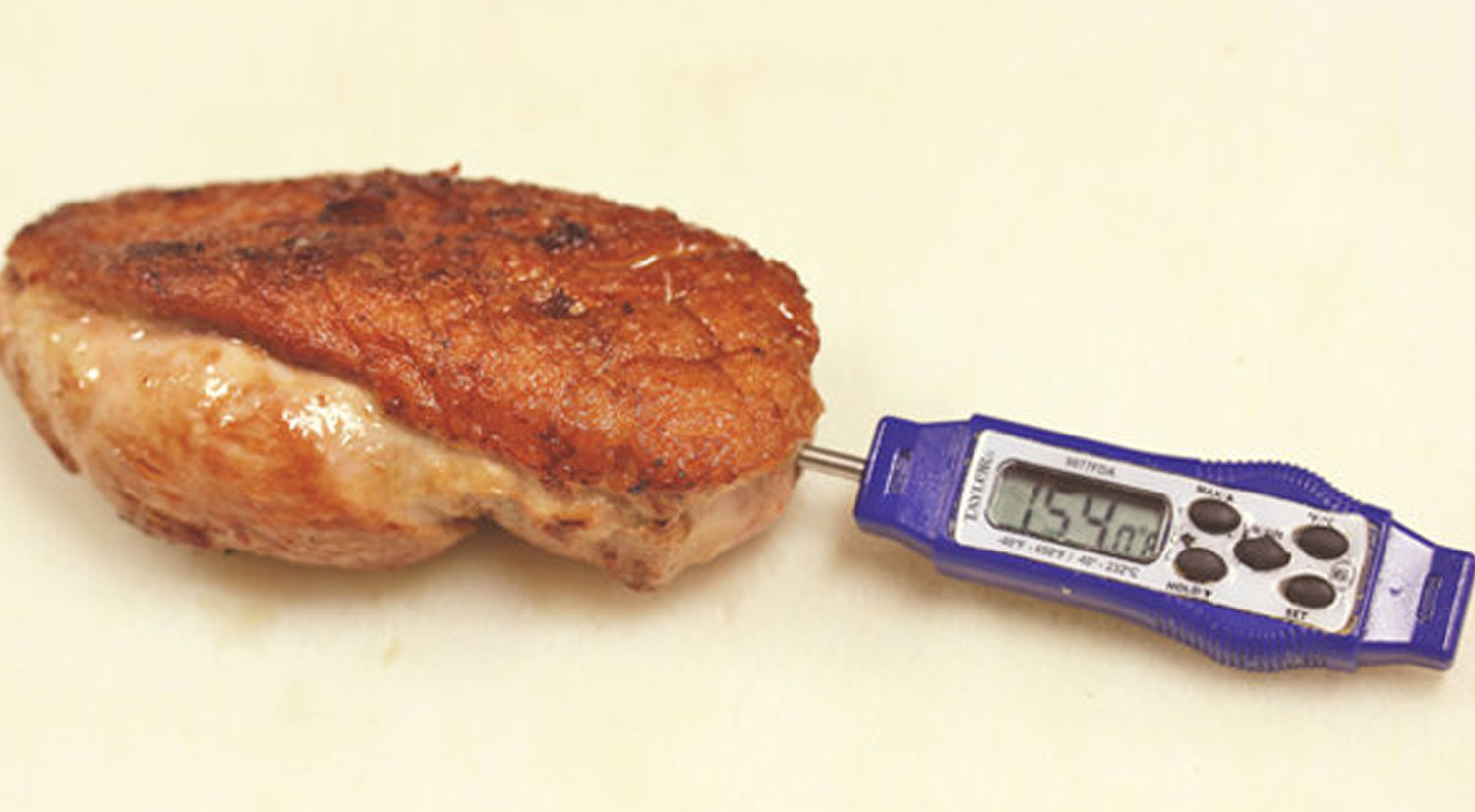 Cooking Duck - Meat Thermometer